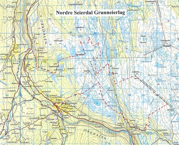 rennebu kart Rennebu utmarksråd
